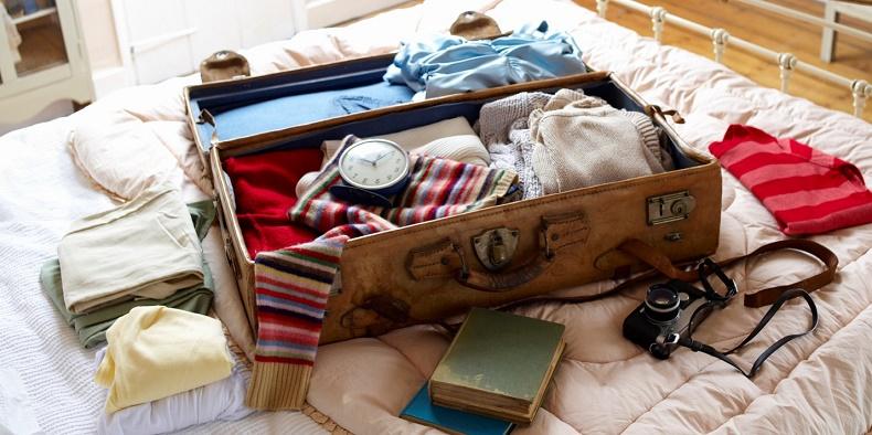 Chuẩn bị hành lý phù hợp với nơi bạn sẽ đến