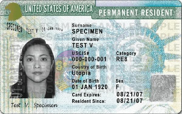 Thẻ xanh Mỹ có 2 loại gồm Thẻ xanh 2 năm và Thẻ xanh 10 năm