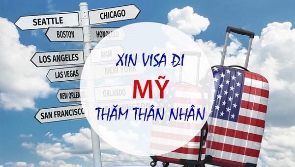 xin visa du lich my tham than nhan