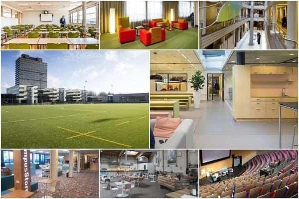 Cơ sở vật chất và môi trường sống đáp ứng cho sinh viên quốc tế